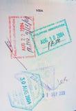 Passport chop Royalty Free Stock Image