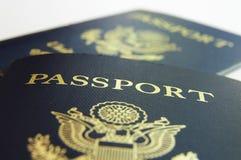 Passport closeup Royalty Free Stock Photo