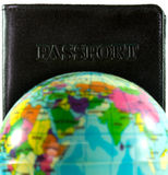 Passport concept travel around the world Stock Image