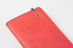 Passport cover Stock Images