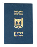 Passport of an Israel citizen Royalty Free Stock Photo