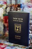 Passport of Israel state Stock Photos