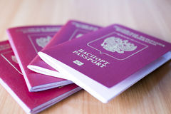 Free Passport On The Table Royalty Free Stock Image - 61599586
