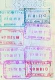 Passport page Royalty Free Stock Image