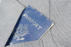 Passport in Pocket Royalty Free Stock Photo