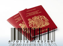 Passport for sale Royalty Free Stock Photography