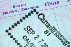 Passport Stamp Royalty Free Stock Photos