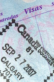 Passport Stamp Royalty Free Stock Image