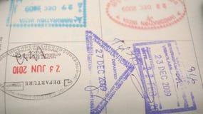 Passport Stamp Stock Images