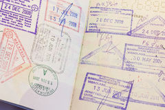 Passport Stamp Stock Images