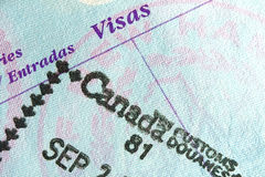 Passport Stamp Stock Photos