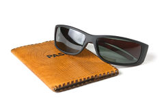 Passport and sunglasses Royalty Free Stock Photo