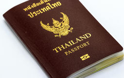 Passport of thailand royalty free stock image