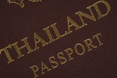 Passport Thailand for travel concept royalty free stock photography