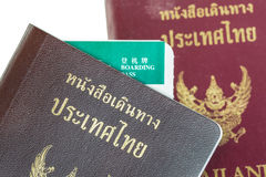 Passport Thailand for travel concept background royalty free stock photo