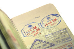 Passport to Asia and the World Stock Photo