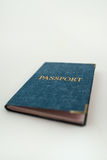 Passport to blue cover Royalty Free Stock Images