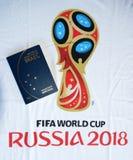 Passport to russia. Rio de Janeiro - Brazil  passport to Russia 2018 Stock Photos