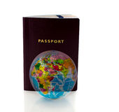Passport to travel around the world Royalty Free Stock Images