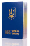 Passport Ukraine Royalty Free Stock Images