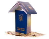 Passport Ukraine Royalty Free Stock Photo