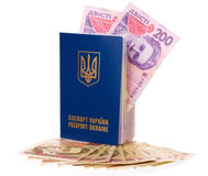 Passport Ukraine Stock Photos