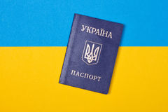 Passport of Ukraine Royalty Free Stock Image