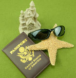 Passport Vacation Stock Images