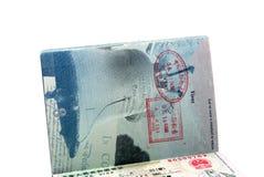Passport and visa royalty free stock photos