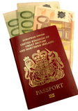 Passport5079euro Stock Photos