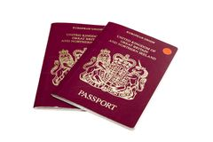 Passports. Stock Image