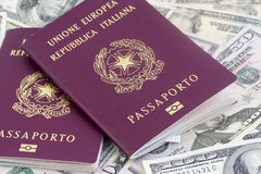 Passports Stock Photos