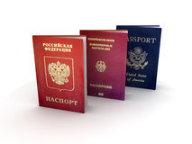 Passports Stock Images