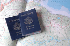 Passports Royalty Free Stock Photo