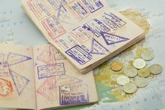 passports foto de stock