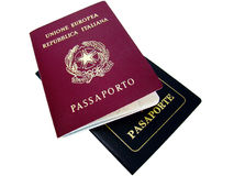 Passports Stock Image