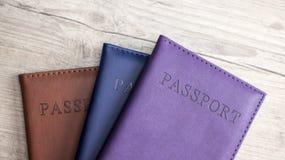 passports imagens de stock