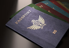 Passports Royalty Free Stock Images