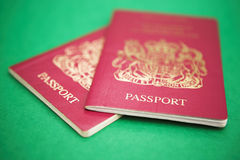 Passports please Royalty Free Stock Photography