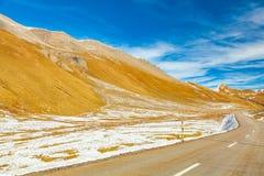 Passroad del distretto di Albula Fotografia Stock Libera da Diritti