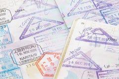 Passstempel Lizenzfreie Stockfotografie