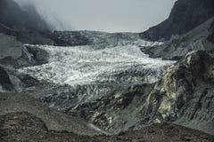 Passu冰川,巴基斯坦 免版税库存图片