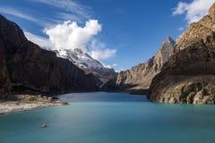 Passu dal Nordligt område Pakistan fotografering för bildbyråer