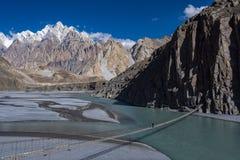 Passu dal Nordligt område Pakistan royaltyfria bilder