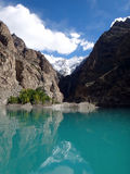 Passu Lake, Pakistan Royalty Free Stock Photos