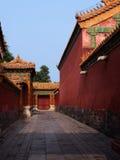Passway del palazzo Fotografie Stock