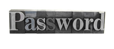 'Password Royalty Free Stock Photography
