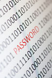 Password Royalty Free Stock Photos