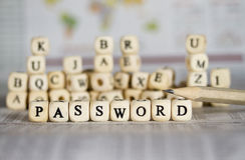 password Fotografie Stock Libere da Diritti