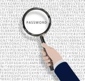 password stock de ilustración